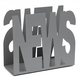 Εφημεριδοθήκες 26-033  37x16x31 –Matt Concrete Grey Pam & Co