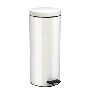 Κάδος Απορριμάτων σε λευκό ματ χρώμα Pam&Co 18Lit Soft Close 2353-033
