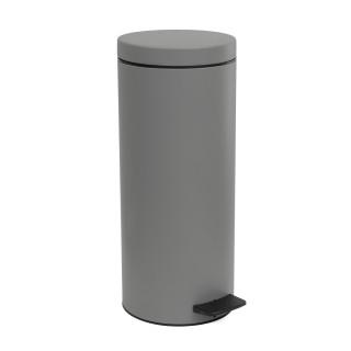 Κάδος Απορριμάτων σε γκρί ματ χρώμα Pam&Co 18Lit Soft Close 2353-163