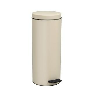 Κάδος Απορριμάτων σε Ivory ματ χρώμα Pam&Co 18Lit Soft Close 2353-703