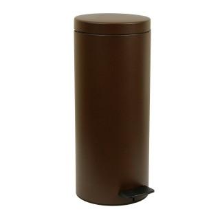 Κάδος Απορριμάτων σε βένγκε ματ χρώμαPam&Co 18Lit Soft Close 2353-943