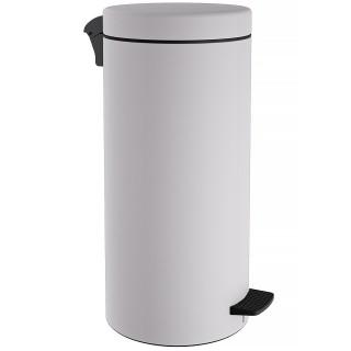 Κάδος Απορριμάτων σε λευκό ματ χρώμα Pam&Co 25Lit 2553-033