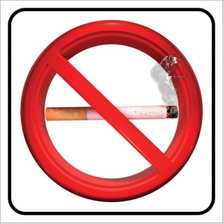 Πινακίδα σήμανσης PVC ΑΠΑΓΟΡΕΥΕΤΑΙ ΤΟ ΚΑΠΝΙΣΜΑ