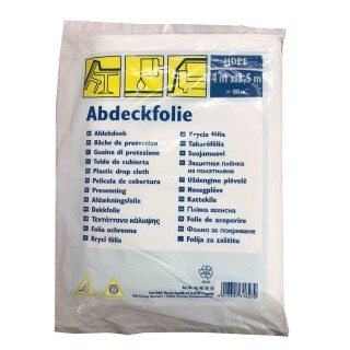 Κάλυμμα Προστασίας Σκόνης – Χρωμάτων Διάφανο 4m x 12,5m Abdeckfolie 9690