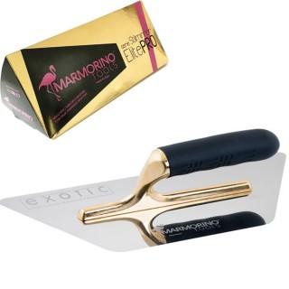 Σπάτουλα Marmorino Tools Stilmirror ElitePRO Τραπέζιο Dual 280x140x0,6