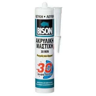 Στεγανοποιητική κόλλα που μπορεί να βαφτεί μετά από 30 λεπτά - ακρυλική μαστίχη Bison