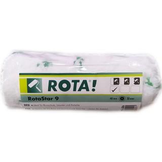Ρολάκι Rotastar 9mm Πέλος 12cm μήκος για όλους τους τύπους Πλαστικών χρωμάτων και για αστάρια
