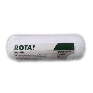 Ρολάκι RotaFilt συνθετικό κουρεμένο 5mm Πέλος 12cm μήκος 40mm διάμετρος κυλίνδρου για ρεπουλίνες διαλύτου, βερνίκια δαπέδου και για σκληρούς διαλύτες