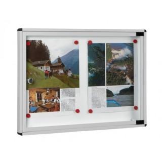 Πίνακας ανακοινώσεων 702 Μοντέλο 400mm x 550mm σε Αλουμίνιο