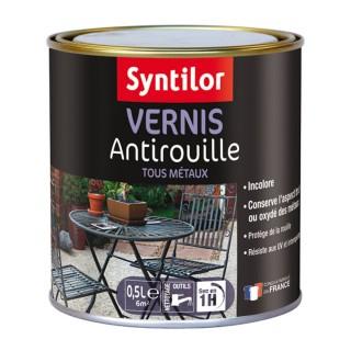 Ακρυλικό Βερνίκι Μετάλλων Αντισκωριακό Γυαλιστερό Syntilor - Vernis Antirouille 500ml