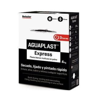 Επισκευαστικός Στόκος Τελευταίες τεχνολογικής γενιάς που Επικολλάται απευθείας χωρίς Αστάρι Aguaplast Express Beissier 4Kg