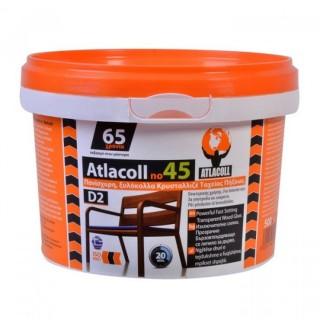 Ξυλόκολλα Atlacoll Κρυσταλιζέ Νο 45 - 500gr