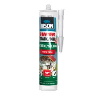Κατασκευαστική σιλικόνη για ελαστική σφράγιση Λευκή Super Sealer 290ml