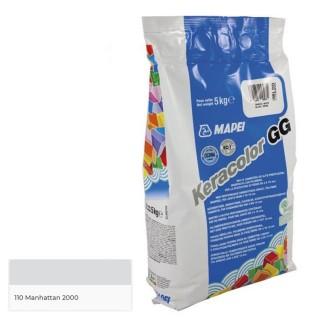 Αρμόστοκος Χονδρόκοκκος MAPEI KERACOLOR GG 110 ΓΚΡΙ Manhattan 2000 5 KGR