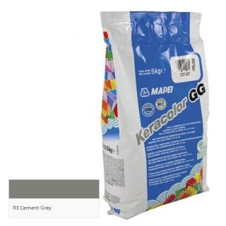 Αρμόστοκος Χονδρόκοκκος MAPEI KERACOLOR GG 113 ΓΚΡΙ ΤΣΙΜΕΝΤΟ Cement Grey 5 KGR