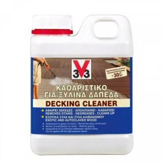 Καθαριστικό για ξύλινα δάπεδα V33 1L Decking Cleaner