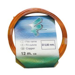 Διακοσμητικό Σύρμα Χαλκού Πάχους 0,80mm 12m Filgraf HRAM80