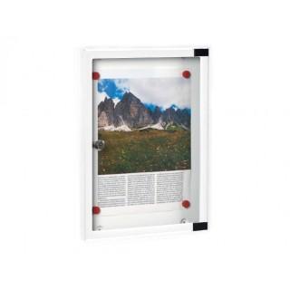 Πίνακας ανακοινώσεων 703 Μοντέλο 400mm x 300mm σε Λευκό