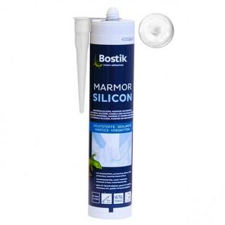 Σιλικόνη για στεγανοποίηση Μαρμάρου και φυσικών Λίθων Λευκή Bostik Marmor Silicon