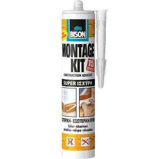 Κόλλα γενικής χρήσης Μπέζ MONTAGEKIT® SUPER STRENGTH 370g