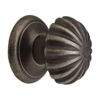 Μπούλ εξώθυρας Benini argherita 186A Παλαιωμένος Σίδηρος 7cm x 7cm