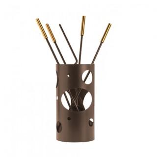 Εργαλεία με Κουβά Ζωγομετάλ K30-1230 σε Αντικέ Σκουριά-Όρο Ματ