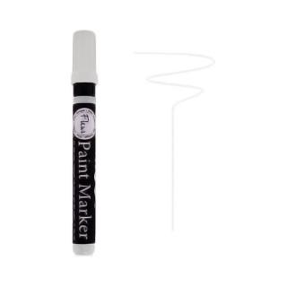 Μαρκαδόρος χρώματος κιμωλίας Paint marker Chalky Look F01 Titanium White 16000
