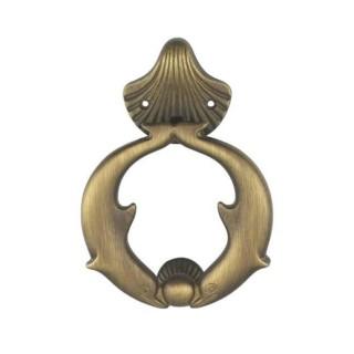Ρόπτρο Πόρτας - Benini Dolphin 45 - Σατινέ Μπρονζέ 11,8cm x 17cm