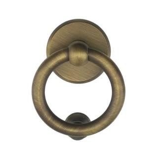 Ρόπτρο Πόρτας - Benini Anello 110B - Σατινέ Μπρονζέ 11,5cm x 14,5cm