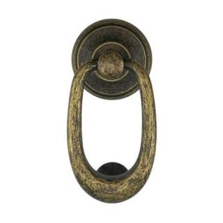 Ρόπτρο Πόρτας - Benini Verona 37 - Αντικέ Ορείχαλκος 8,5cm x 17cm