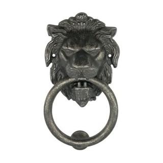 Ρόπτρο Πόρτας - Benini Leone Anello 15 - Παλαιωμένος Σίδηρος 8,5cm x 16cm