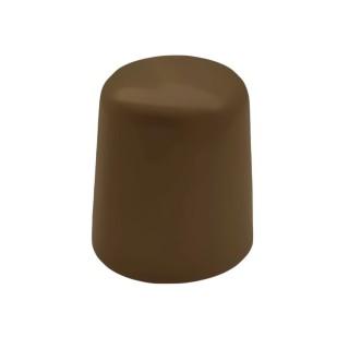 Στοπ πόρτας δαπέδου Πλαστικό Βιδωτό σε Καφέ χρώμα 00-061-018