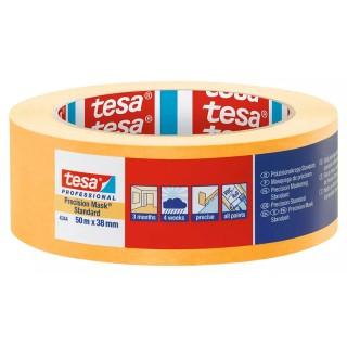 Χαρτοταινία μασκαρίσματος Ακριβείας με εξαιρετικά λεπτό και ανθεκτικό χαρτί πλάτους 38 χιλιοστών 50 μέτρα Professional 4344 Precision Mask® Standard tesa ®