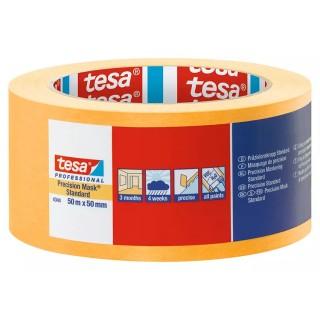 Χαρτοταινία μασκαρίσματος Ακριβείας με εξαιρετικά λεπτό και ανθεκτικό χαρτί πλάτους 50 χιλιοστών 50 μέτρα Professional 4344 Precision Mask® Standard tesa ®