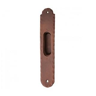 Χούφτα χωρίς τρύπα συρόμενης πόρτας ρουστίκ σειρά 135 Αντικέ σκουριά