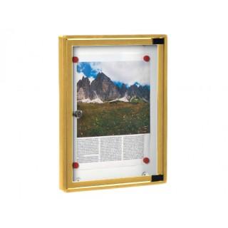 Πίνακας ανακοινώσεων 703 Μοντέλο 400mm x 300mm σε Χρυσό