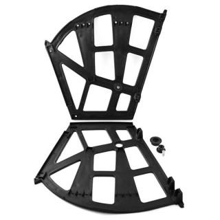 Μηχανισμός Παπουτσοθήκης 3 θέσεων Σετ Πλαστικός σε Χρώμα Μαύρο