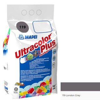 Αρμόστοκος MAPEI ULTRACOLOR PLUS Ν119 London Grey 5 kg