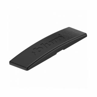 Κάλυμμα για σώμα μεντεσέ BLUM clip top με ενσωματωμένο φρένο ίσιο black onyx 70.1503.BPABD PR1000 ONS