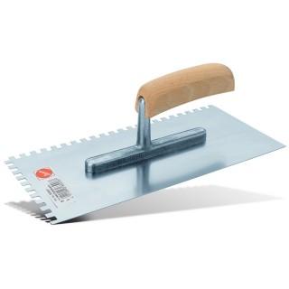 Σπάτουλα ΜΥΣΤΡΙ με δόντια 8mm για κόλλες ΙΝΟΧ Pajarito 8092RZ/2/ 104 C4 28cm μήκος