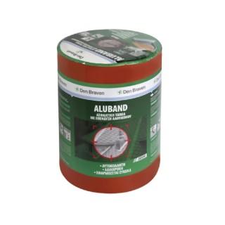Ασφαλτική Ταινία Κεραμιδί με Επένδυση Αλουμινίου ZWALUW ALUBAND 10cm x 10m 200425