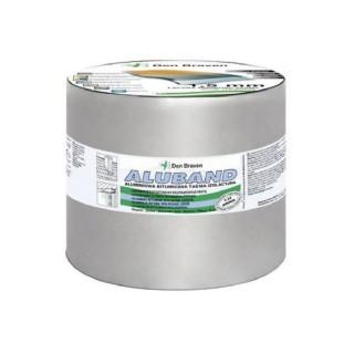 Ασφαλτική Ταινία Ασημί με Επένδυση Αλουμινίου ZWALUW ALUBAND 15cm x 10m 200018
