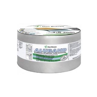 Ασφαλτική Ταινία Ασημί με Επένδυση Αλουμινίου ZWALUW ALUBAND 10cm x 10m 200014