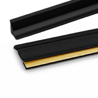 Αρμοκάλυπτο Πάγκου Πλαστικό Rehau Slim-Line Σε ΧρώμαΜαύρο - Πώληση με το Μέτρο