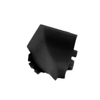 Γωνία Εσωτερική Απροκάλυπτου Rehau Slim-Line Μαύρη ( 1 τεμάχιο) No1