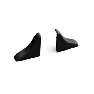 Σετ Τελειώματα Απροκάλυπτου Rehau Slim-Line Μαύρα ( 2 τεμάχια)