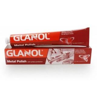 Κρέμα Καθαρισμού & Γυαλίσματος Μετάλλων 100gr Glanol Metal Polish
