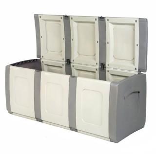 Μπαούλο Πλαστικό BOLD Γκρί-Ανθρακί 0,57 Υ x 1,38 Π x 0,54 Β Χωρητικότητας 300L