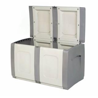 Μπαούλο Πλαστικό REGULAR Γκρί-Ανθρακί 0,57 Υ x 0,94 Π x 0,54 Β Χωρητικότητας 200L