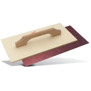 Τριβίδι Ξύλινο με γυαλόχαρτο Αυτοκόλλητο αποσπώμενο PAJARITO 832/30 300x150mm